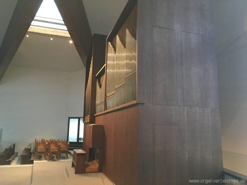 Innsbruck-Reichenau A - Pfarrkirche St. Paulus - Orgel - Spieltisch (8)