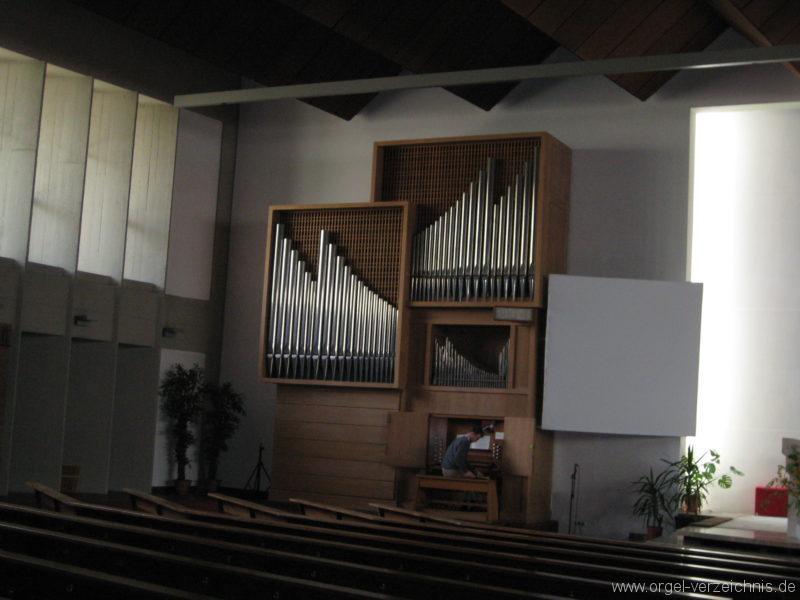 Innsbruck-Saggen - Pfarrkirche Mariä Empfängnis - Orgel (1)