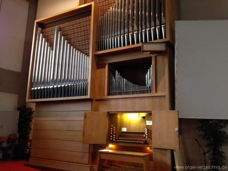 Innsbruck-Saggen - Pfarrkirche Mariä Empfängnis - Orgel (16)