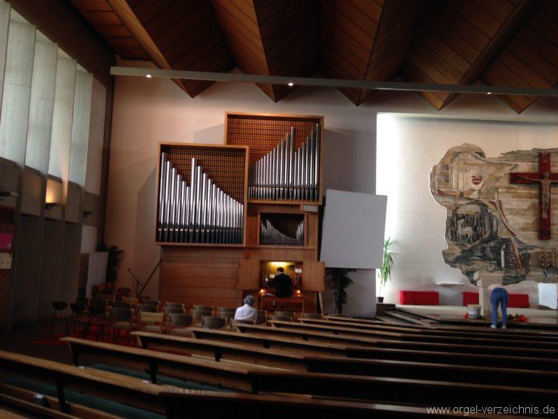 Innsbruck-Saggen - Pfarrkirche Mariä Empfängnis - Orgel (3)