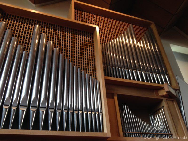 Innsbruck-Saggen - Pfarrkirche Mariä Empfängnis - Orgel (4)
