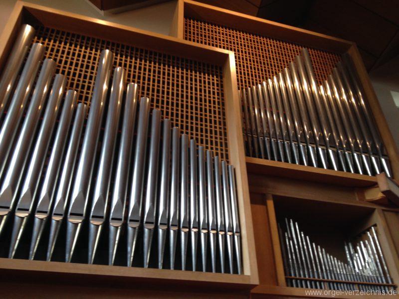 Innsbruck-Saggen - Pfarrkirche Mariä Empfängnis - Orgel (5)