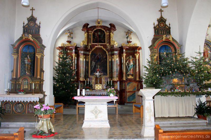 Salem Weildorf St. Peter und Paul Innenansicht (1)