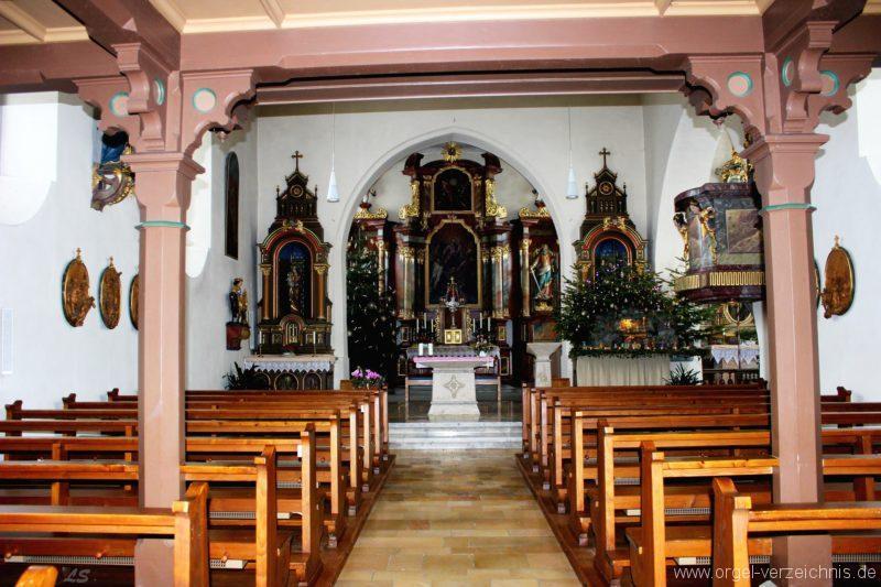 Salem Weildorf St. Peter und Paul Innenansicht (2)
