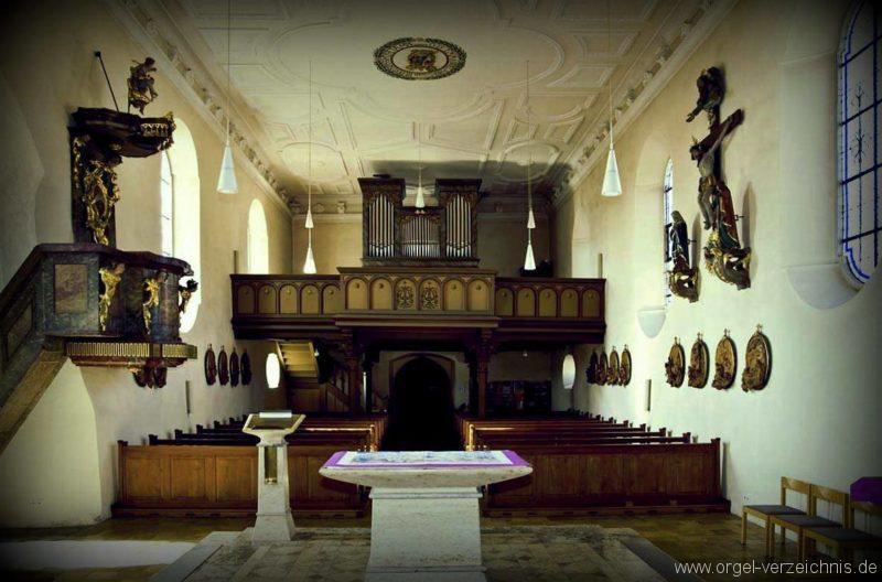 Salem Weildorf St. Peter und Paul Prospekt (4)