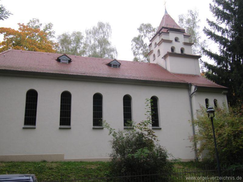 Dresden Weisser Hirsch St. Hubertus Aussenansicht (1)