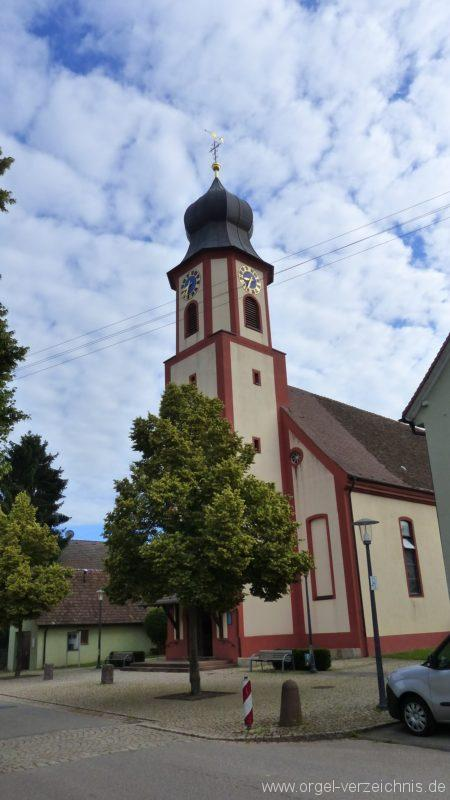 Hausen an der Möhlin St. Johannes Aussenansicht I