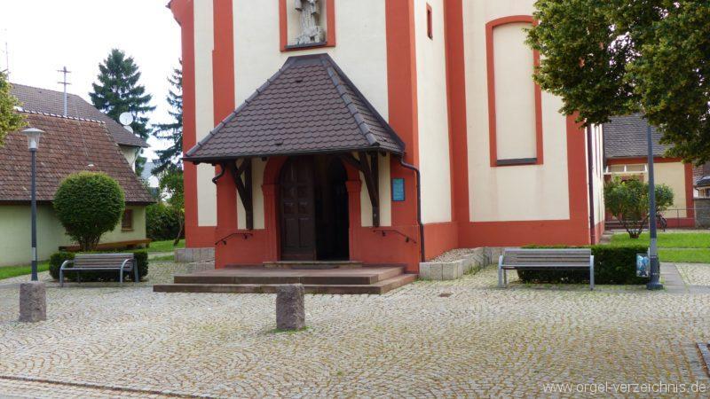 Hausen an der Möhlin St. Johannes Aussenansicht II