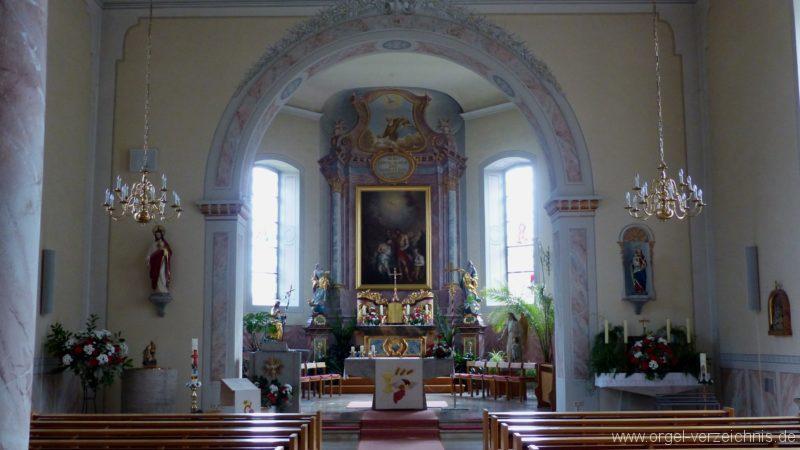 Hausen an der Möhlin St. Johannes Innenansicht I