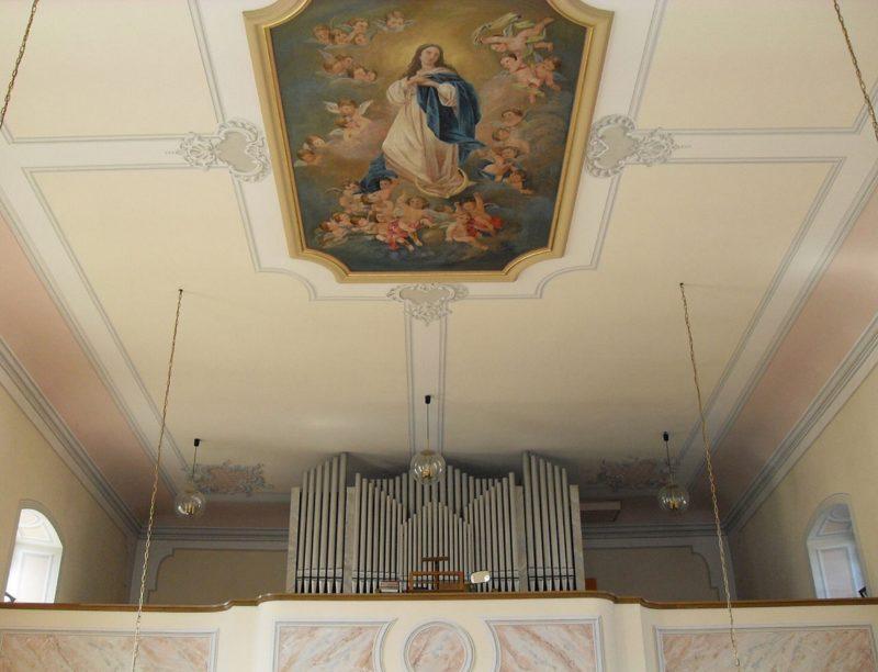 Hausen an der Möhlin St. Johannes Innenansicht II Nutzer Rauenstein