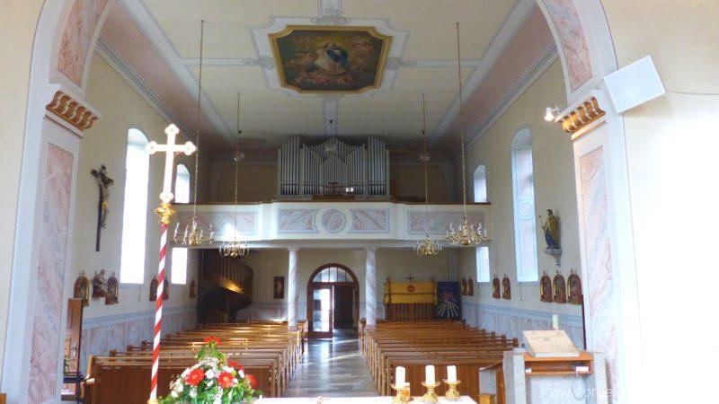 Hausen an der Möhlin St. Johannes Prospekt I