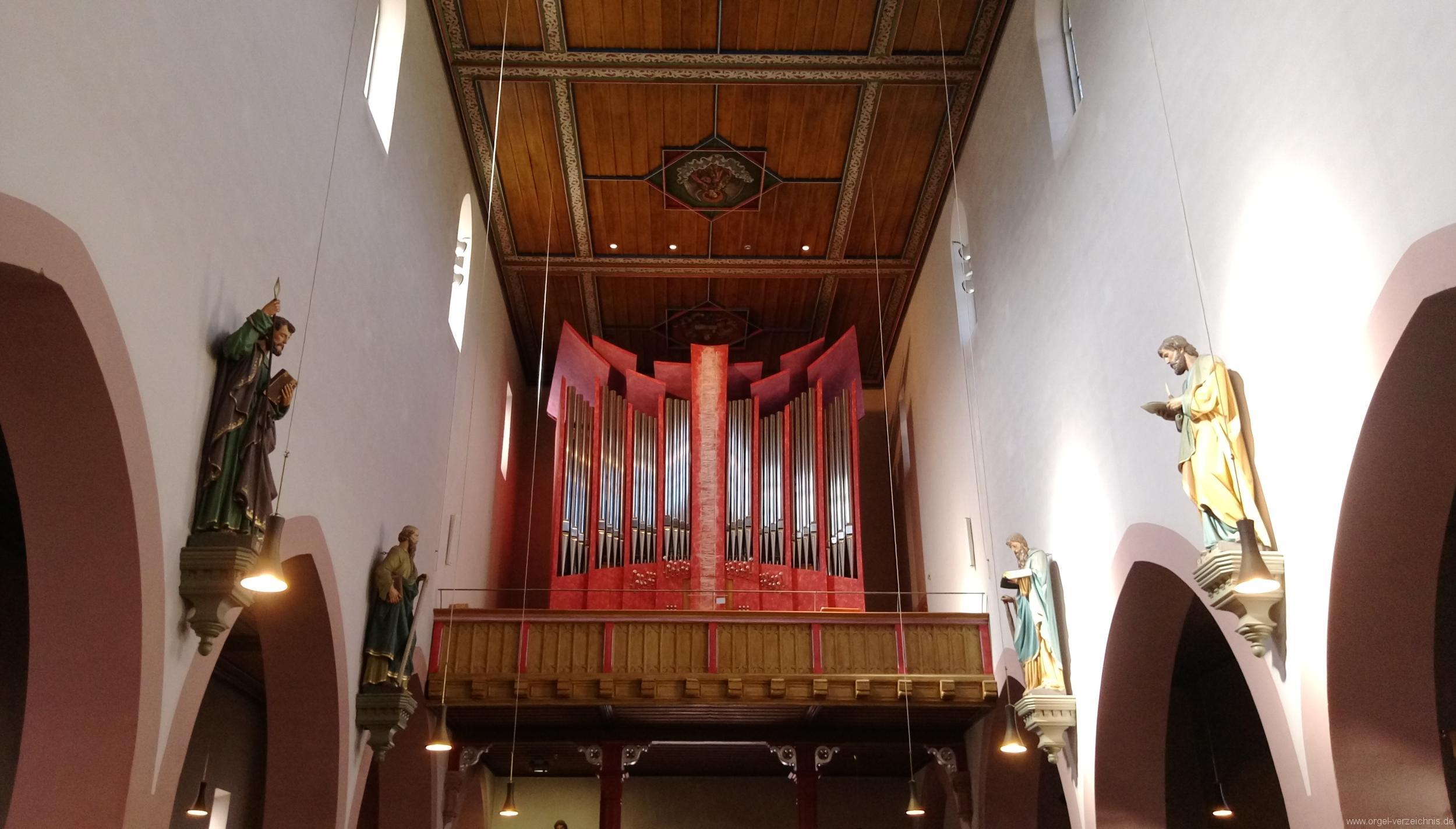 Offenburg Weingarten St. Philippus und Jakobus Prospekt (21)