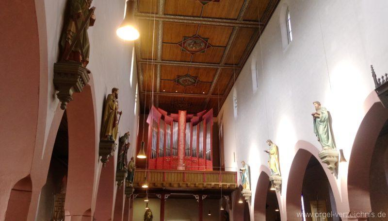 Offenburg Weingarten St. Philippus und Jakobus Prospekt (41)