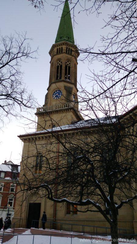 Freiburg Wiehre Christuskirche Aussenansicht I