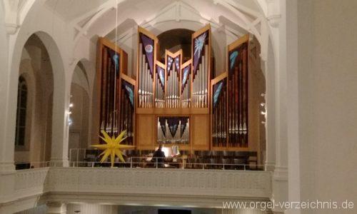 Freiburg Wiehre Christuskirche Prospekt I