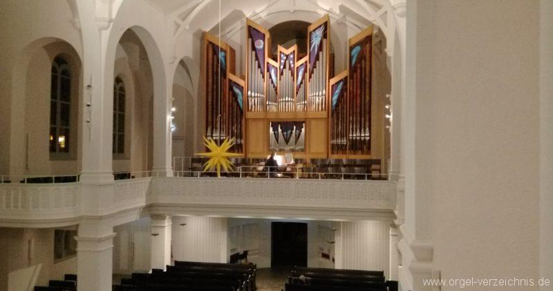 Freiburg Wiehre Christuskirche Prospekt II