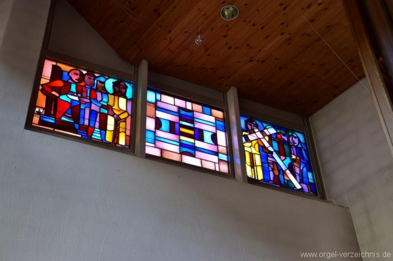 Schöftland Heilige Familie Fenster I