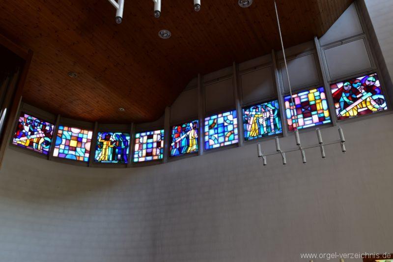 Schöftland Heilige Familie Fenster II