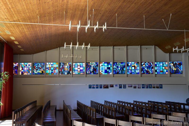 Schöftland Heilige Familie Fenster III