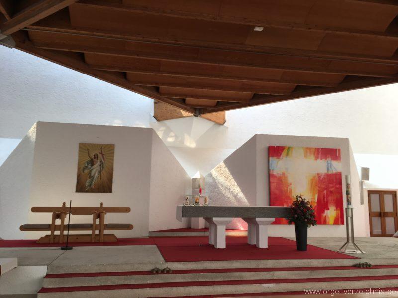 Völs - Neue Pfarrkirche unser Herr Jesus Christus in Emmaus (3)