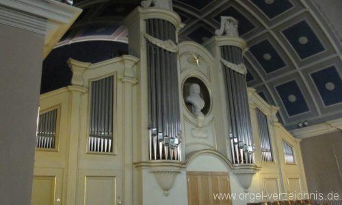 Berlin Pankow Hoffnungskirche Orgelprospekt I