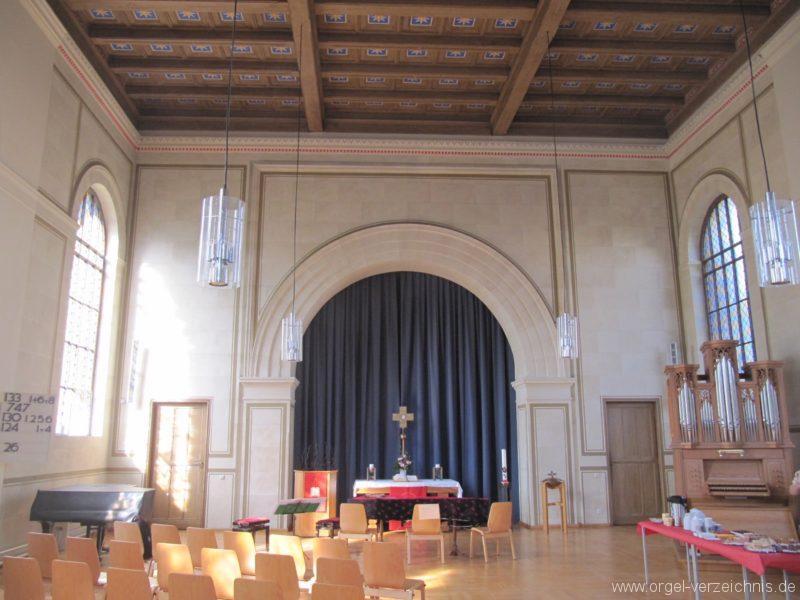 Berlin Wedding Alte Nazarethkirche Altarraum I