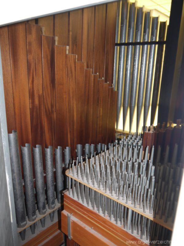 Berlin Wedding Baptistenkirche Orgel Innensansicht II