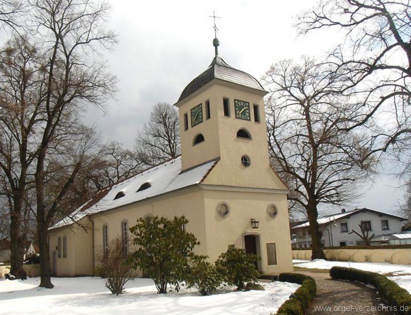 Berlin Spandau Dorfkirche Kladow Aussenansicht I