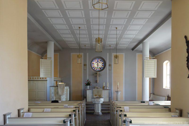 Berlin Spandau Dorfkirche Kladow Innenansicht I