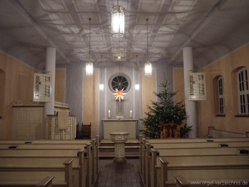 Berlin Spandau Dorfkirche Kladow Innenansicht II