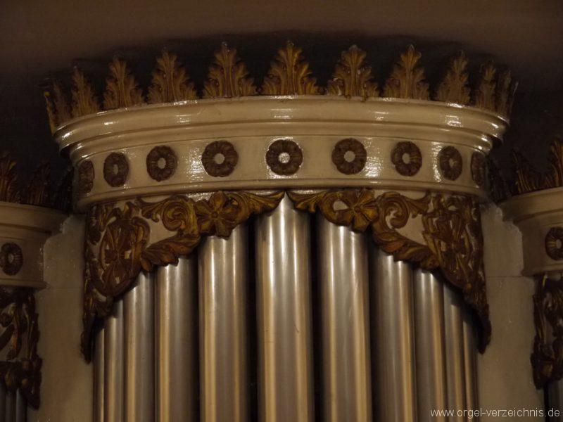 Berlin Spandau Dorfkirche Kladow Orgelprospekt Detail
