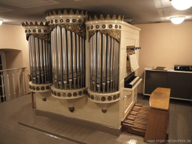Berlin Spandau Dorfkirche Kladow Orgelprospekt I