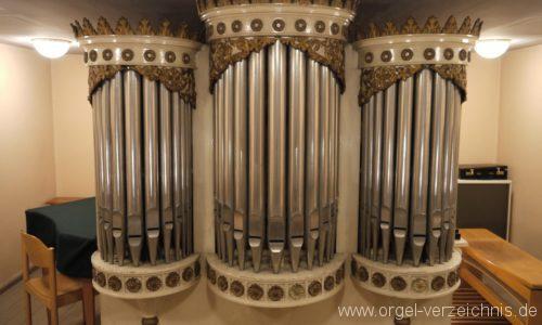 Berlin Spandau Dorfkirche Kladow Orgelprospekt II