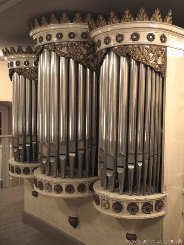 Berlin Spandau Dorfkirche Kladow Orgelprospekt III