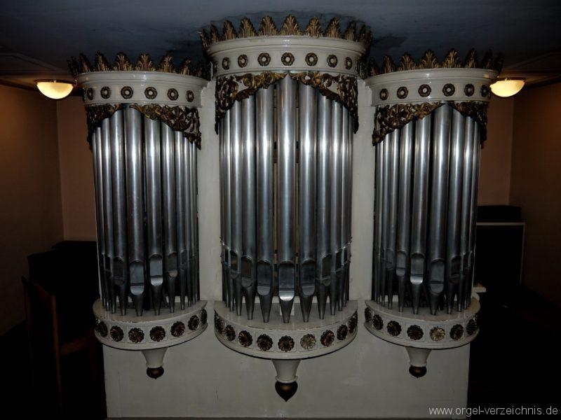 Berlin Spandau Dorfkirche Kladow Orgelprospekt IV