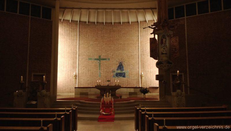 Freiburg Mutterhauskirche Innenansicht IV
