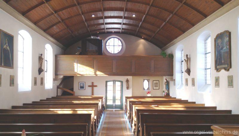 Münstertal Spielwegkapelle Innenansicht I