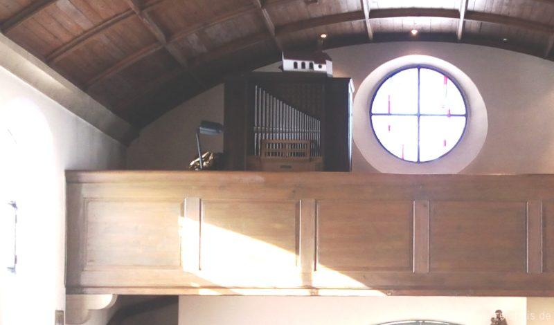 Münstertal Spielwegkapelle Prospekt III