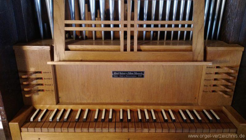Münstertal Spielwegkapelle Spieltisch II