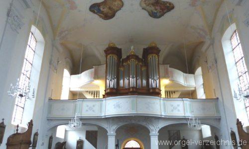 Merdingen St. Remigius Orgel Prospekt I