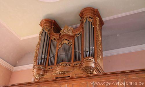 Neustadt an der Weinstrasse Haardt Protestantische Kirche Orgelprospekt II