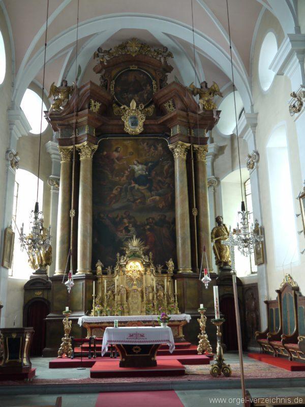 Berg Rohrbach Stadtkirche St. Jakobus Hochaltar I