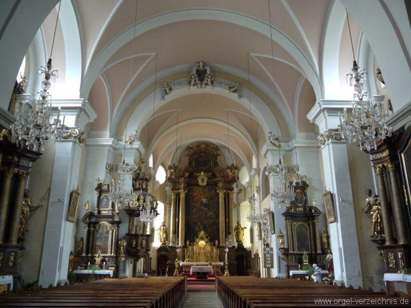 Berg Rohrbach Stadtkirche St. Jakobus Innenansicht II