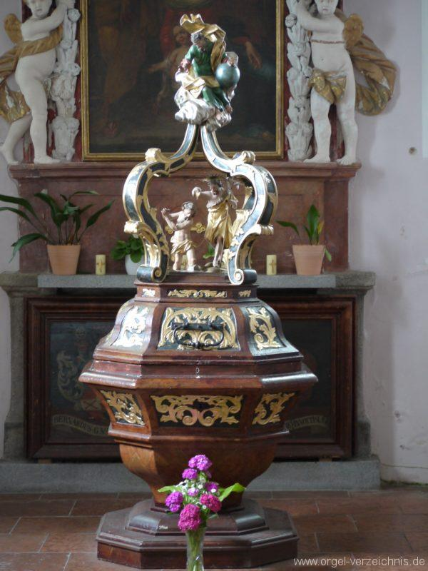 Berg Rohrbach Stadtkirche St. Jakobus Kanzel I