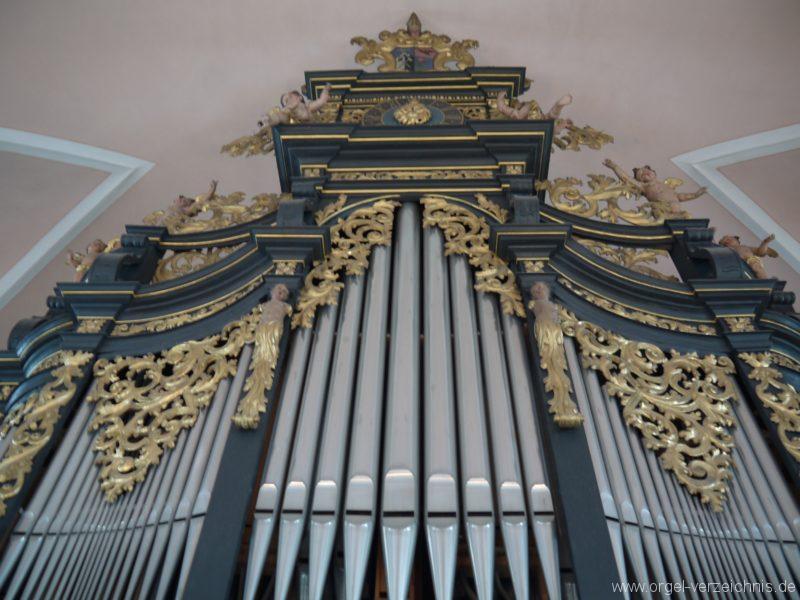 Berg Rohrbach Stadtkirche St. Jakobus Prospekt I
