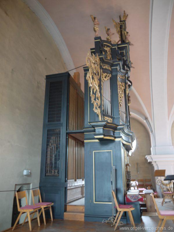 Berg Rohrbach Stadtkirche St. Jakobus Prospekt II