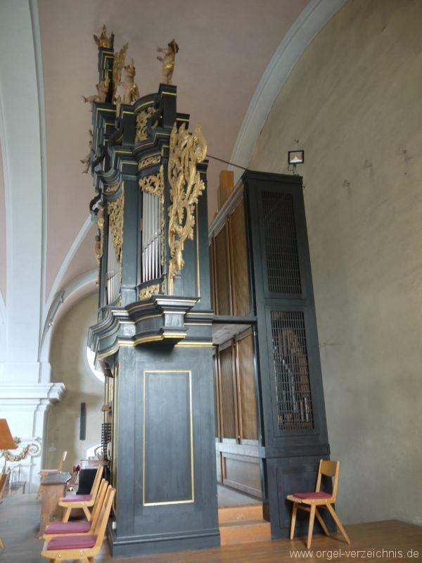 Berg Rohrbach Stadtkirche St. Jakobus Prospekt III
