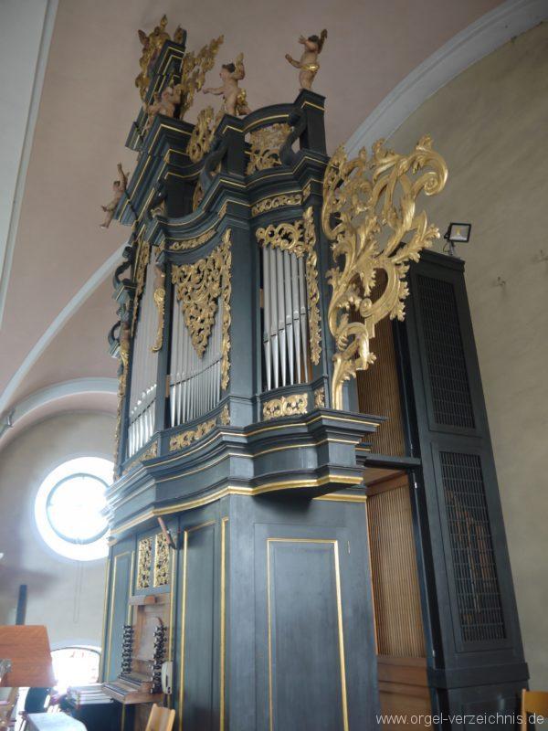 Berg Rohrbach Stadtkirche St. Jakobus Prospekt IV