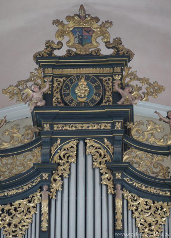 Berg Rohrbach Stadtkirche St. Jakobus Prospekt IX