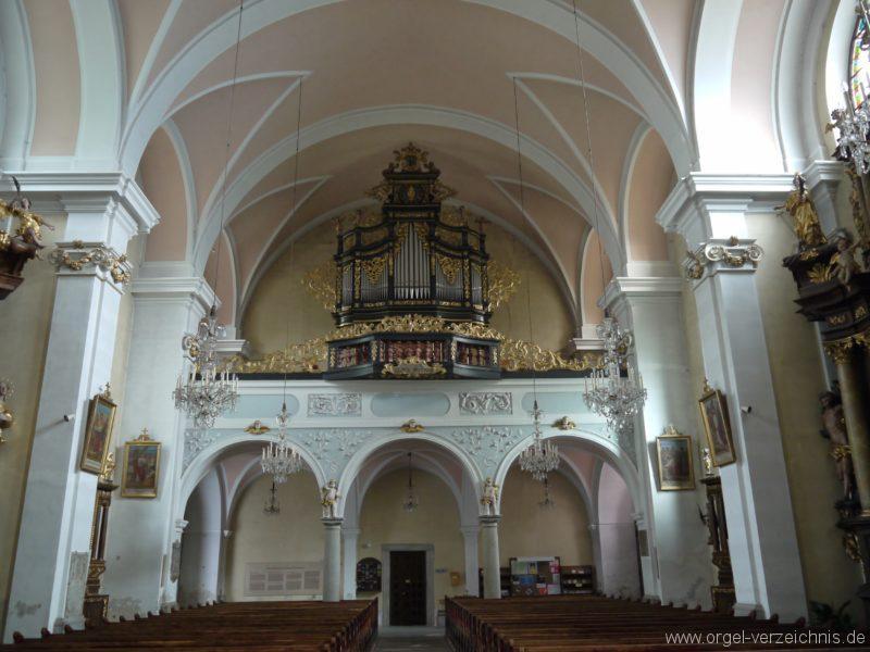 Berg Rohrbach Stadtkirche St. Jakobus Prospekt VI